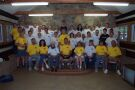 This is a picture of all the staff, both summer and year-round, of Camp Bethel. I won't name them all lol.